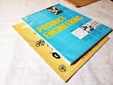 Vintage Product Engineering Magazines   *June 1958 & September 1962*