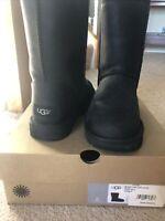UGG Australia CLASSIC Short Leather Women's Boots sz 8