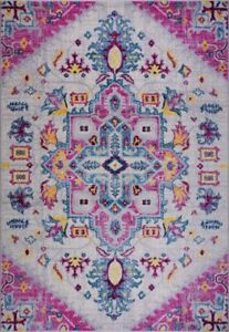 Shareen Traditional Soft Sustainable Indoor Mat Area Carpet BAN1328 BAN1329