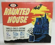 The Haunted House Ideal Vintage Game Box And Board Great Display Scarce Monster