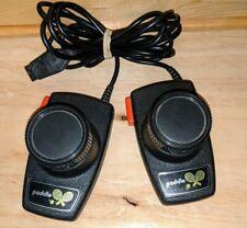 Vintage Original Atari 2600 Tennis paddle controllers