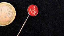Fusball Nadel Badge Deutschland Emblem Logo 1. FCN Nürnberg glasiert