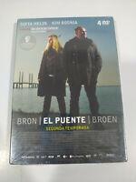 Bron el Ponte Broen Seconda Stagione 2 Completa DVD Spagnolo Danes Nuovo