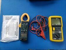 Aemc 1040 Digitalanalog Megohmmeter Digital And Greenlee Cmi 100 Acdc Clamp