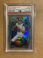 2016 JARED GOFF PANINI SELECT LIGHT BLUE DIE CUT PSA 10 GEM MINT /125 ROOKIE RC