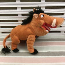 Disney Store Exclusive Lion King Pumbaa Soft Toy 15""