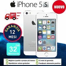 Neuf Apple iPhone 5s 32Go 32GB DÉBLOQUÉ Téléphones Mobile Silver Argenté FR