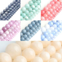 Wholesale Natural Angelite Stone Gemstone Round Spacer Loose Beads 6MM 8MM 10MM