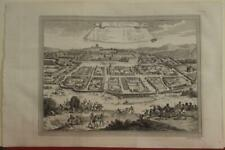 LOANGO KINGDOM OF LOANGO CONGO 1746 BELLIN ANTIQUE ORIGINAL COPPER ENGRAVED VIEW