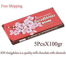 Greek Milk Chocolate with Almonds 5x100gr