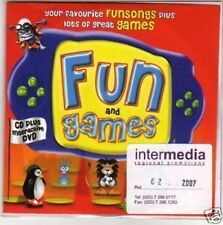(H58) Fun & Games, sampler - DJ CD