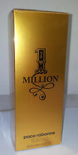 Paco Rabanne 1 Million Edt 200ml 6.7 oz Men Eau de Toilette New & 100% Original