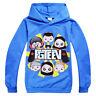 Kids Boys Girls fgteev Long Sleeve T-Shirt Cotton Tee Hoodie Casual Sweatshirt