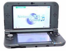 Nintendo New 3DS XL Metallic Black Hand held System 32-6B