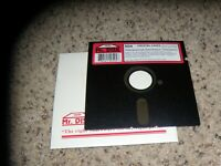 """Crystal Caves MS-DOS PC Game on 5.25"""" disk"""