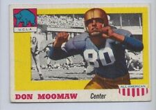 1955 TOPPS ALL AMERICAN # 40 DON MOOMAW NICE CARD