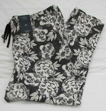 Marks and Spencer Linen Plus Size Mid Trousers for Women