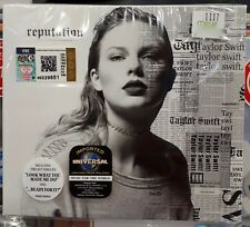 TAYLOR SWIFT - REPUTATION CD (2017) *With Poster *Original New Sealed_FREE SHIP'