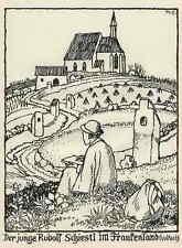 Der JUNGE RUDOLF SCHIESTL - Matthäus SCHIESTL  Strichätzung 1936 - HEYDER-Verlag