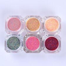 Nail Art Sugar Sandy Glitter Powder Dust Manicure Decoration DIY Born Pretty