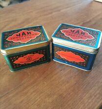 Georgian Soviet USSR Vintage Tea Tins x 2