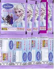 10 SEALED PACKS FROZEN SNOW WONDERS PANINI - POCHETTE BUSTINA SOBRE TUTE PACKET