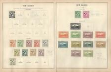 New Guinea Collection 1932-35, Mint C28-C39, C46-C44, Airplane, Bird