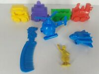 Vintage 1980's McDonalds Happy Meal Toys Premiums Lot Train Helicopter Ronald