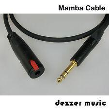 3m Kopfhörer Verlängerungskabel DYNAMIC/Mamba Cable/6,3/3,00..Kauf 1x-dafür TOP