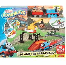 Thomas & Friends Adventures - REG AND THE SCRAPYARD - 25 Piece Train & Track Set