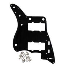 noir couleur 3ply Fender JAZZMASTER guitare PICKGUARD scratch Plaque avec vis