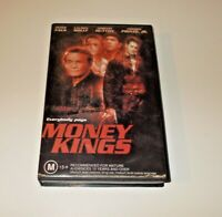 Money Kings VHS Pal Ex Rental Big Box Peter Falk Lauren Holly