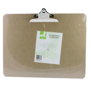 Q-Connect A3 Masonite Clipboard KF01305 - Free Next Working Day Delivery