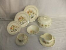 C4 Pottery J & G Meakin Trend - Hedgerow, delicate floral oven to tableware 1B1D