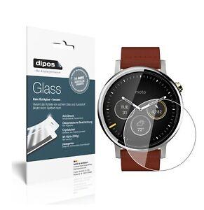 2x Screen Protector for Motorola Moto 360 (2019) Flexible Glass 9H dipos
