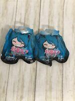 Lot of 2 Hatsune Miku Blind Bag Backpack Hangers Factory Sealed