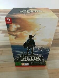 Zelda Breath of the Wild Limited Edition Nintendo Switch ( ohne Spiel )