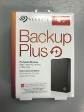 Seagate Backup Plus 4 TB Portable External Hard Drive (STDR4000100) Black New