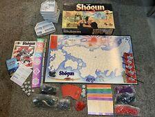 Shogun Gamemaster Series 1st Edition 1986 Milton Bradley Games - Samurai Swords