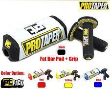 PRO TAPER HANDLE BAR PAD + GRIPS (PUÑOS +PROTECTORES PROTAPER)
