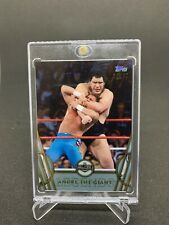 2018 TOPPS WWE LEGENDS HALL OF FAME SILVER /50 ANDRE THE GIANT