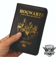 Passport Cover Harry Potter Holder Travel Case Wallet Hogwarts Credit Card Case