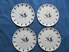 LOT DE 4 ASSIETTES AIR FRANCE AVION CONCORDE décor Jean Picart le Doux