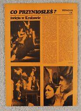 Ewa Demarczyk JAZZ 1977 Piotr Skrzynecki,Maria Muldaur,Roberta Flack,J.Milian