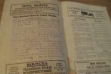 "RARE 1911 Pre Titanic STEAMSHIP Daily News ""The AEROGRAM""~S.S. BEAR~"