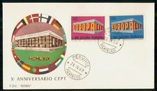 Mayfairstamps ITALY FDC 1969 COVER EUROPA CEPT COMBO wwi93831