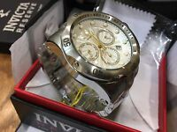 23887 Invicta Men's 52mm Venom Quartz Chronograph Stainless Steel Bracelet Watch