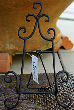 Black  Iron  Book / Plate  Stand    BRAND NEW