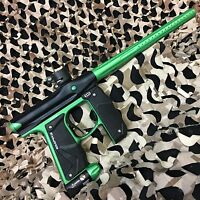 NEW Empire Mini GS Electronic Paintball Marker Gun - Black/Neon Green