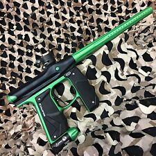 NEW Empire Mini GS Electronic Paintball Marker Gun - Black/Neon Green